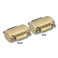 DVI Female F/F 24+5Pin Gender Changer Adapter Coupler Extender DVI-A DVI-D DVI-I