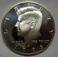 1995-S Silver Proof John F Kennedy Half Dollar Flashy Gem Example DUTCH AUCTION