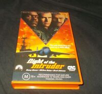 Flight of the Intruder VHS Pal CIC original case Danny Glover Willem Dafoe