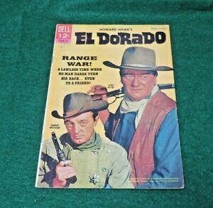 Dell comics John Wayne EL DORADO dated 1967 strong VG+
