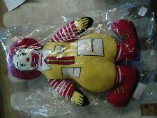"Vintage 1984 McDonald's Ronald McDonald 12"" Plush Doll NIP"