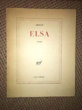 Elsa - Louis Aragon