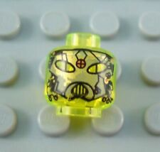 LEGO Translucent Neon Space UFO Droid Minifig Head