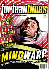 Fortean Times #95 March 1997 Mind Controll Ape-Man Angels Miracles in Tennessee