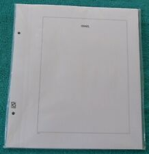"Davo Album Pages ""ISRAEL"" with border line, pack of 25 Used, Excellent"
