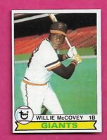 1979 TOPPS # 215 GIANTS WILLIE MCCOVEY NRMT-MT  CARD  (INV# C3963)