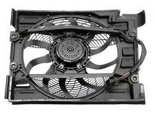 For BMW E39 528i Auxiliary Fan Assembly with Shroud for A/C Condenser Behr