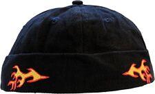 Coco Cap schwarz mit Flammen