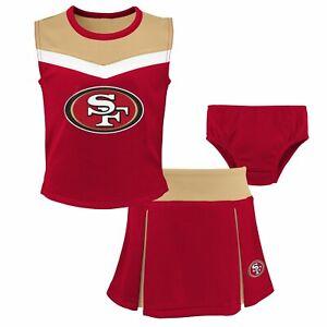 NFL Girls Cheerleader Set - SPIRIT San Francisco 49ers