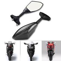 Turn Signal Integrated Racing Sport Mirrors For Honda Yamaha Suzuki Kawasaki