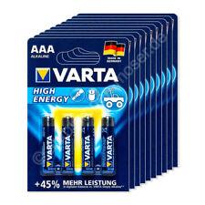 40x Micro AAA / LR03 - Batterie Alkaline, Varta High Energy 4903, 1,5V, 1240 mAh