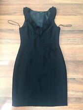 0e439dd789e Next Black Frill Neckline LBD Dress Size 10 Christmas party?