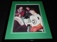 Jean Beliveau Signing Autographs Quebec Aces Framed 11x14 Photo Display