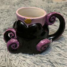 Disney Villians Ursula Little Mermaid Mug Coffee Figural Tentacles Ceramic Gift