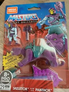 Mattel Mega Construx Masters of the Universe Flocked Skeletor and Panthor