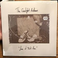 """THE GASLIGHT ANTHEM Live at Park Ave 10"""" VINYL EP RARE & OOP Limited 250 Copies"""