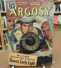 Vintage Pulp Argosy Weekly Volume 294 Number 1 October 14 1939 Richard H Watkins