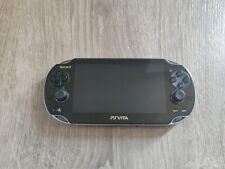 Sony PlayStation PS Vita PCH- 1001 Black Handheld System Firmware 3.72