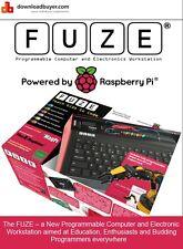 Fuze alimenté par Raspberry Pi V3 Avec Project cartes,Robot Kit Support et plus