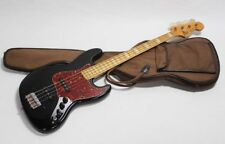 ** GRECO Jazz Bass JB 600 Black-Japon vintage **