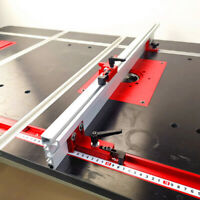 DIY Woodworking Tool Miter Track Stop For T-Slot T-Track Manual Aluminum Alloy #