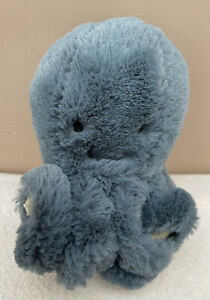 Jellycat Baby Storm Octopus Small Tiny Soft Toy Comforter Blue Green