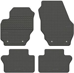 Passgenaue Gummifußmatten schwarz für Volvo XC70 II Bj. 2007-2016. Top Qualität!