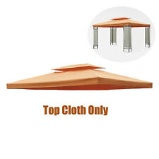 Outsunny 10x13ft UV Protected Top Cover 2-Tier Replacement Gazebo Canopy Water