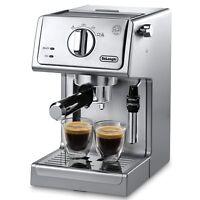 DeLonghi Pump Espresso/Cappuccino Machine - Stainless Steel