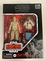 Star Wars The Black Series Luke Skywalker and Yoda 6-Inch Action Figure In Stock