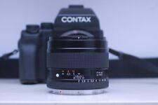 Contax 80mm f2 Planar + 645 Body + Sunshade Ready For digital Back