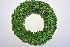 "Preserved Boxwood Round Wreath - 16"""