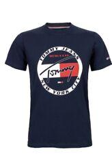 Tommy Hilfiger T-shirt bleu marine, DM0DM0681, Tommy jeans NY Polo MCMLXXXV