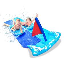 Inflatable Water Slide garden outdoor toy children gift present lawn flat play