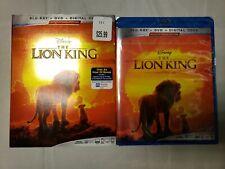 New listing The Lion King (Blu-ray, Dvd, Digital, 2019)w/Slip