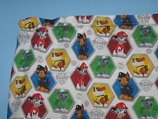 Paw Patrol Red Bue Green Yellow Handmade Cotton Window Curtain Valance