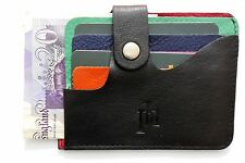 Thin Slim quality Primehide Leather Credit Card wallet purse holder oyster card