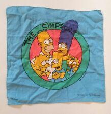 Ancien MOUCHOIR The SIMPSONS 1997 Bart Marge HOMER Lisa Ex. état Série Animation