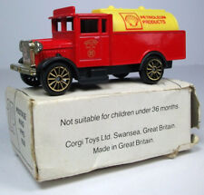 Corgi Morris Truck; Shell Petroleum Products; White mail-out box
