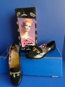 1994 COLLECTIBLE BARBIE THEME SHOES FOR CHILD- 35th ANNIVERSARY