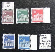 Ungeprüfte postfrische Briefmarken aus der BRD (ab 1948) mit Bauwerks-Motiv