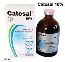 CATOSAL 10% Vitamin B12 PHOSPHORUS METABOLISM STIMULATE Supplement BAYER 100 ml