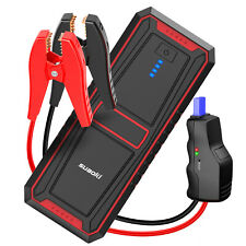 18000mAh Car Jump Starter Pack Booster LED Type-C USB Charger Battery Power Bank