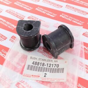 labwork Rear Stabilizer Sway Bar Bushings Bracket Kit Replacement for Toyota Avalon Camry