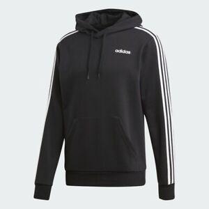 adidas Men's Essentials 3-Stripes Hoodie DU0498