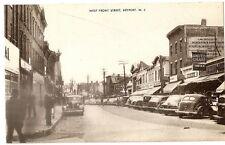 c1930 West Front Street Keyport New Jersey Postcard