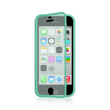 For Apple iPhone 5C TPU Wrap Up Phone Case Cover with Built In Screen Protector