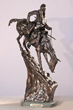 Mountain Man Solid Bronze Collectible Sculpture Statue by Remington Medium Size