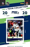 2020 Panini Score Football Seattle Seahawks Team Set
