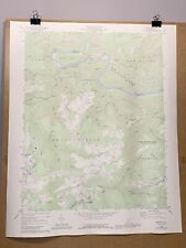 Prince West Virginia Fayette County Old Map Topographical Survey Shady Spring WV
